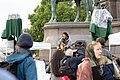 2-Meter-Abstand Demo für Kunst und Kultur Wien 2020-05-29 42 Harri Stojka.jpg