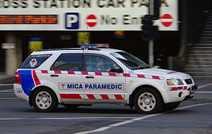 Ambulance Victoria - Mobile Intensive Care Paramedic (MICA) in Ford Territory in Melbourne