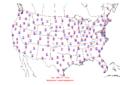 2006-04-02 Max-min Temperature Map NOAA.png