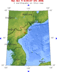 North Korean nuclear test