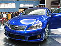 2007 Detroit Autoshow NAIAS Lexus IS-F ISF (360948434).jpg
