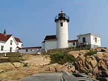 The Races Starting Line Was At Eastern Point Lighthouse Near Yacht Club Gloucester Massachusetts Making This First Season Since 11th