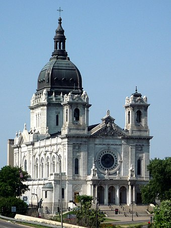 The Baroque-style Basilica of Saint Mary by Emmanuel Louis Masqueray 2008-0705-BasilicaStMary.jpg