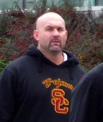 John Morton (American football) - Image: 2008 1018 USC John Morton