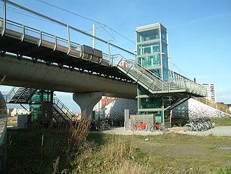 Oosterheem RandstadRail station - Image: 2008 Station Oosterheem (02)