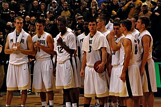 2009–10 Purdue Boilermakers men's basketball team - Image: 20091219 Purdue Boilermakers