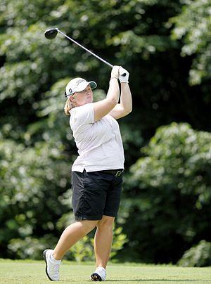 Meredith Duncan - Duncan at the 2009 LPGA Championship