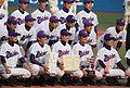 20111127 'Aikodai Meiden' High school Baseball Club at Meiji Jingu Stadium.JPG
