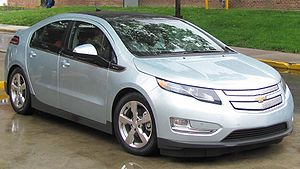 2011 Chevrolet Volt photographed in College Park, Maryland, USA