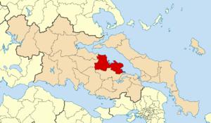 Lokroi (municipality) - Image: 2011 Dimos Lokron