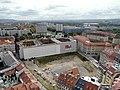 20121008195DR Dresden Blick von der Frauenkirche nach Osten zum Polizeipräsidium.jpg