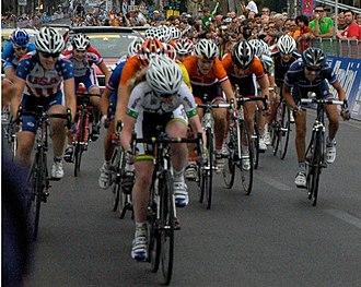 2013 UCI Road World Championships – Women's junior road race - Sprint peloton (lap 5)
