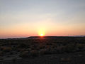 2014-09-19 18 24 53 Hazy, smokey sunset in Elko, Nevada.JPG