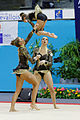 2014 Acrobatic Gymnastics World Championships - Women's group - Qualifications - France 1 02.jpg