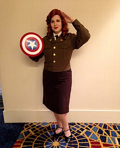 2014 Dragon Con Cosplay - Agent Peggy Carter (15120745681).jpg