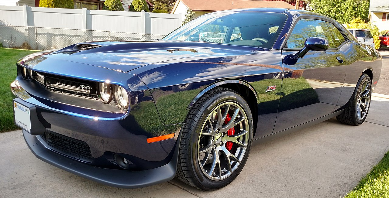 Challenger Hellcat Car Cover