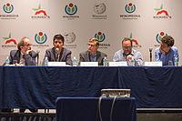 2015 Wikimania press conference-23.jpg