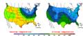 2016-04-10 Color Max-min Temperature Map NOAA.png