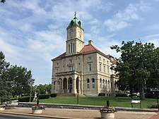 2016-06-26 10 17 24 Rockingham County Courthouse in Harrisonburg, Virginia.jpg