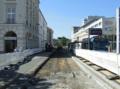 2016-08-27 road works at Berliner Platz (lane at postal office).png