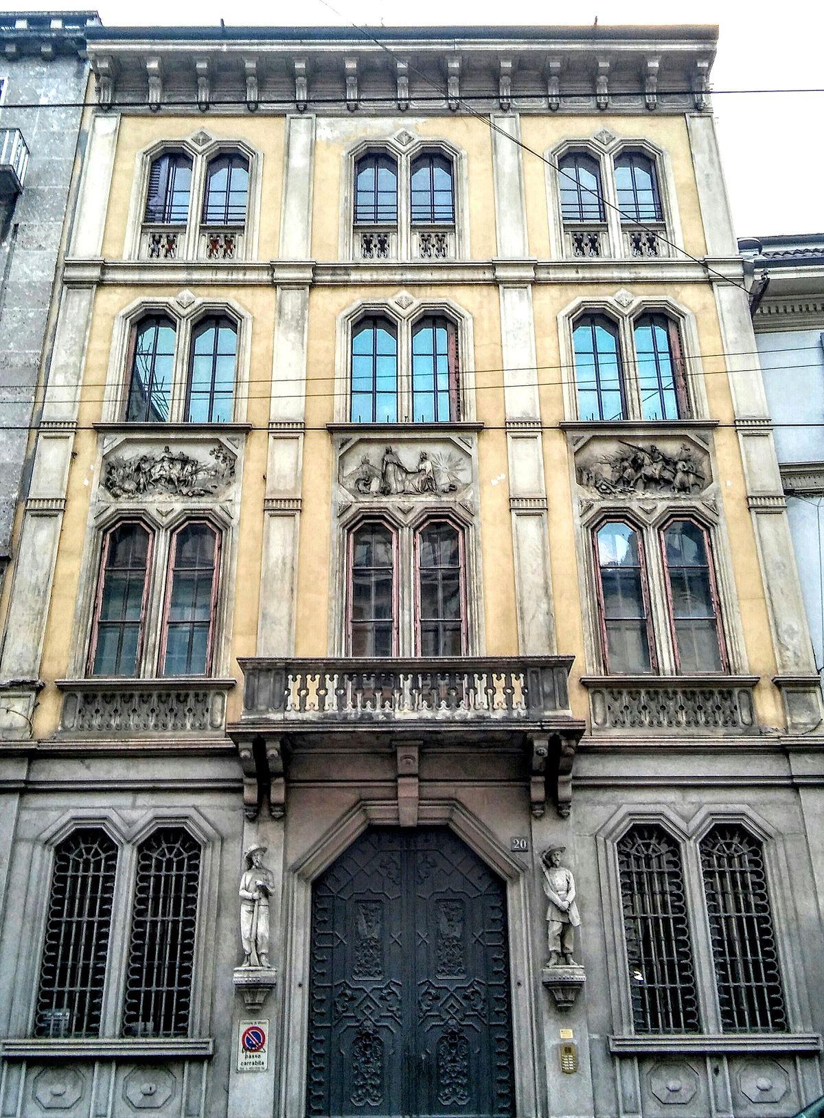 Casa bettoni wikipedia for Corso di grafica milano