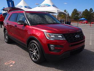 Ford Explorer - Image: 2016 Explorer