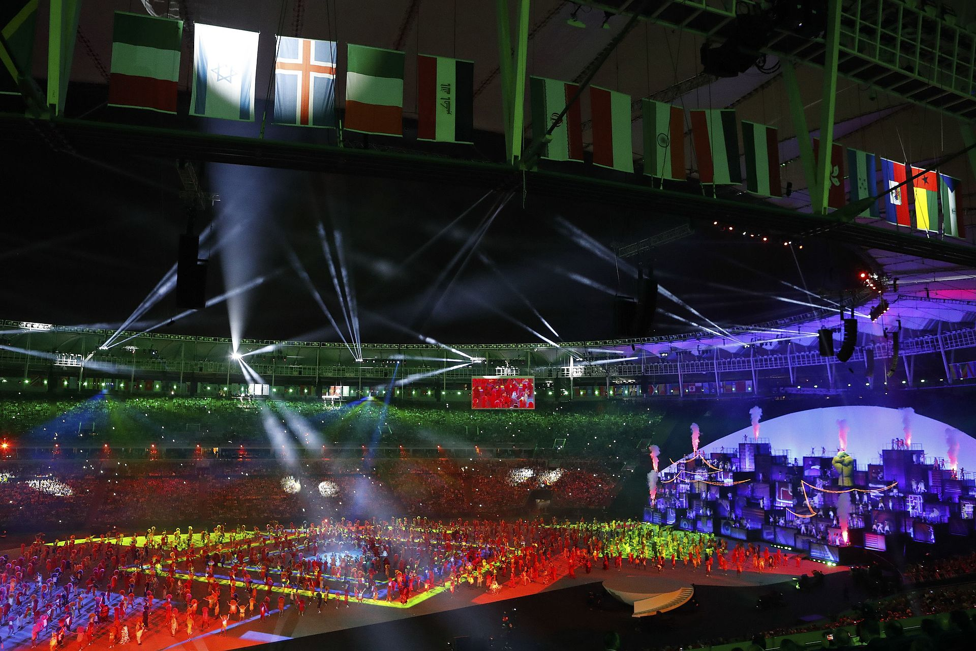 2016 Summer Olympics Opening Ceremony Wikipedia