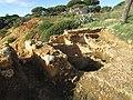 2017-02-28 Remains of Roman fish processing plant, Praia Santa Eulália, Albufeira (3).JPG