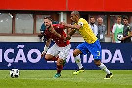 20180610 FIFA Friendly Match Austria vs. Brazil Arnautović Miranda 850 1946.jpg