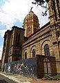 2018 Bogotá cúpula de la iglesia de Nuestra Señora del Carmen de las Cruces.jpg