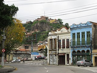 Morro da Providência human settlement in Brazil