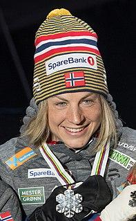 Astrid Uhrenholdt Jacobsen Norwegian cross-country skier