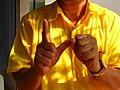 20 as hand gesture in Thailand.JPG