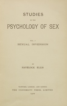 Victorian sexual inversion