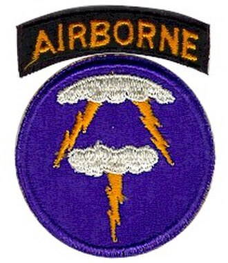 First United States Army Group - Image: 21st Abn Div SSI