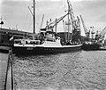 22000ste schip in 1958 in Rotterdam, Bestanddeelnr 910-0582.jpg