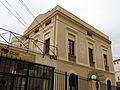 235 Antic Col·legi dels Pares Missioners del Sagrat Cor (Canet de Mar), façana est.JPG