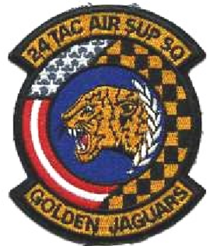24th Tactical Air Support Squadron - Image: 24 Tactical Air Support Squadron emblem