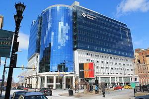 Delaware North - Delaware North is headquartered in the Delaware North Building in Buffalo, New York