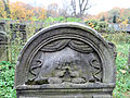 251012 Detail of tombstones at Jewish Cemetery in Warsaw - 07.jpg