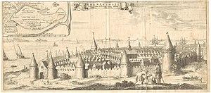 Verdronken Land van Reimerswaal - Reimerswaal before 1570.