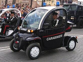 Global Electric Motorcars - Image: 2june 2007 453