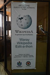 2nd Waray Wikipedia Edit-a-thon 01.JPG
