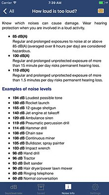 Health Effects From Noise  Wikipedia How Loud Is Too Loud  Various Common Noise Levels And When Noise Becomes  Hazardous To Hearing And Wellbeing
