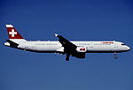 314bl - Swiss Airbus A321-111, HB-IOC@ZRH,02.09.2004 - Flickr - Aero Icarus.jpg
