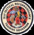 31st Tactical Reconnaissance Training Squadron - Emblem.png