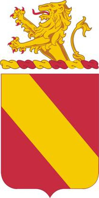 35th Field Artillery Regiment - Coat of arms