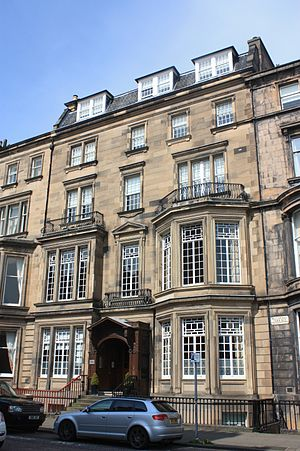 John Ritchie Findlay - Findlay's huge house at 3 Rothesay Terrace, Edinburgh, designed by Sydney Mitchell