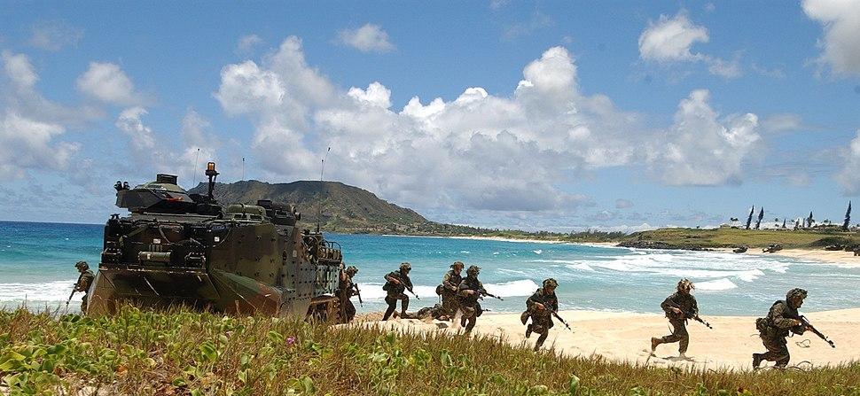 3rd Battalion, 3rd Marines - RIMPAC 2004