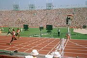 400 meter track at the 1984 Summer Olympics